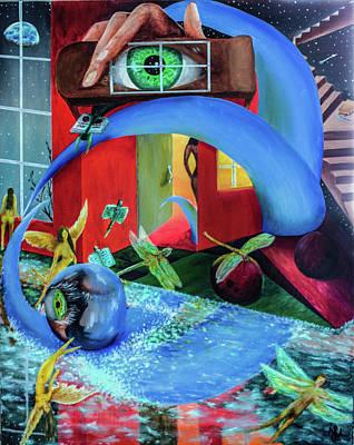 Painting - Forgotten Dreams by Juan Contreras