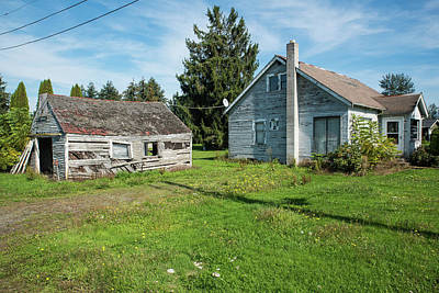 Photograph - Forgotten Home In Nooksack by Tom Cochran