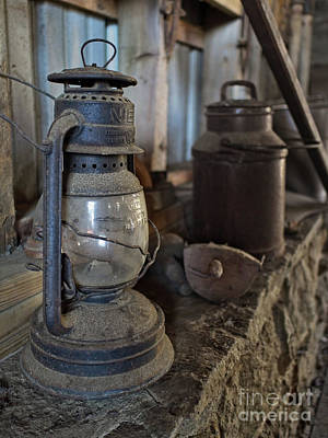 Photograph - Forgotten In The Barn by Mark Miller