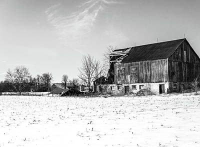 Photograph - Abandoned Barn  by Nick Mares