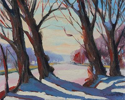 Painting - Forgotten Winter by Phil Chadwick