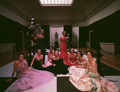 Photograph - Formal Wear by Slim Aarons