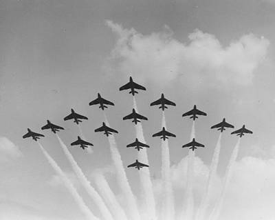 Photograph - Formation Flying by Miller
