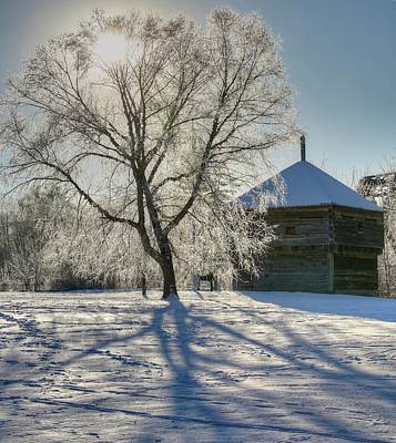 Photograph - Fort Halifax Winter by John Meader