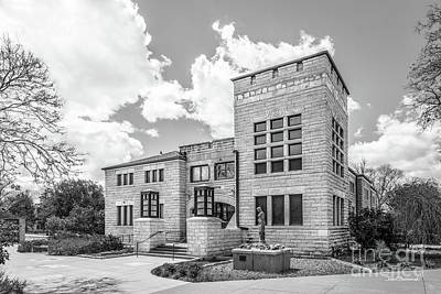 Photograph - Fort Hays State University Allen Hall  by University Icons