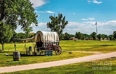 Photograph - Fort Laramie by Jon Burch Photography