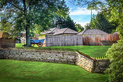 Photograph - Fort Ligonier by Carolyn Derstine