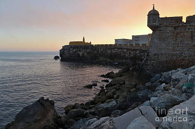 Photograph - Fort Of Peniche And Sea by Angelo DeVal