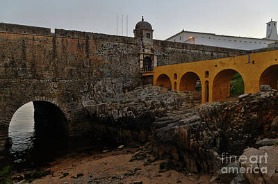 Photograph - Fort Of Peniche by Angelo DeVal