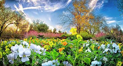 Botanical Photograph - Fort Worth Botanical Gardens by Dean Fikar