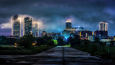 Photograph - Fort Worth Lights by David Morefield