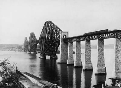Forth Railway Bridge Art Print by Hulton Archive