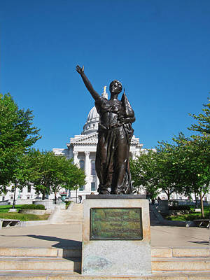 Photograph - Forward - Madison - Wisconsin by Steven Ralser