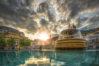 Photograph - Fountain Of Light by Thomas Gaitley