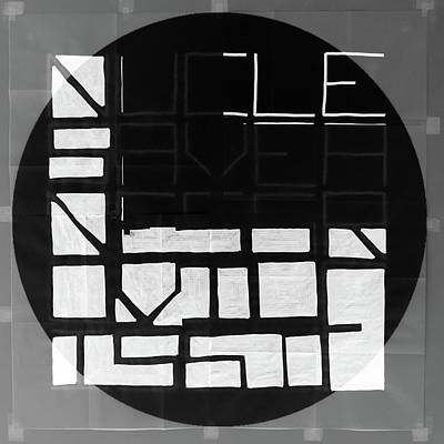 Mixed Media - Four - Map by REVAD David Riley