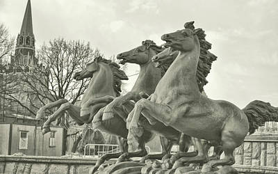 Photograph - Four Seasons Sculpture by JAMART Photography