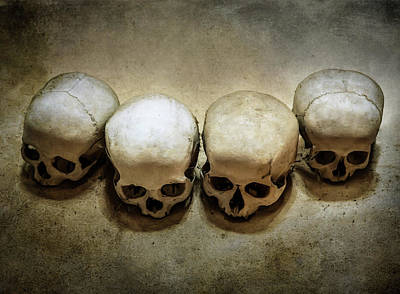 Photograph - Four Victims by Jaroslaw Blaminsky