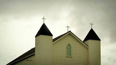 Photograph - Foxen Canyon Church by Barbara Snyder