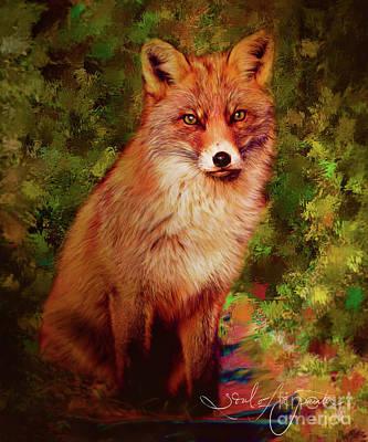 Painting - Foxy by Tara Richardson