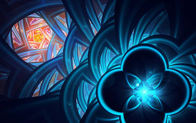 Digital Art - Fractal 1 by Search for author