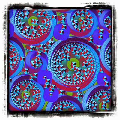 Digital Art - Fractal Glifs by Mario Carini
