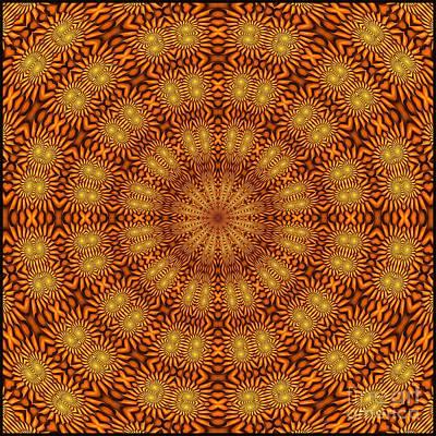 Digital Art - Fractal Schnitzel-5 by Doug Morgan
