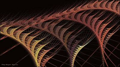 Digital Art - Fractal Work Zone by Doug Morgan