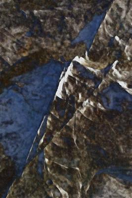 Digital Art - Fractured 2 by David Hansen