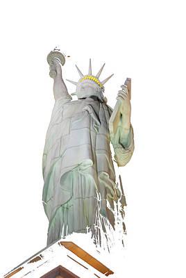 Photograph - Fractured Liberty by John Schneider
