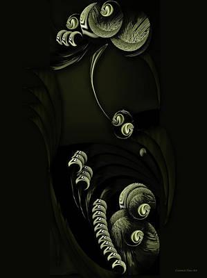 Digital Art - Framed Season Decomposed by Carmen Fine Art