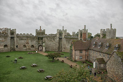 Fantasy Royalty-Free and Rights-Managed Images - Framlingham Castle by Martin Newman