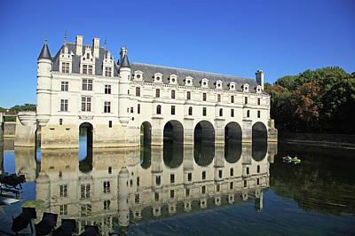 France, Chateau De Chenonceau Art Print