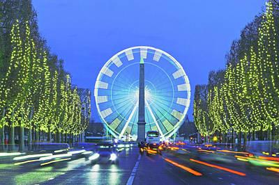 Photograph - France, Paris, Place De La Concorde by Renaud Visage