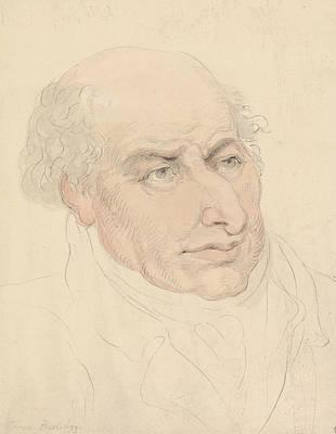 Drawing - Francesco Bartolozzi by Thomas Rowlandson