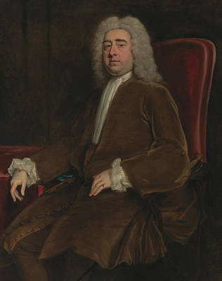 Painting - Francis, 2nd Earl Of Godolphin by Jonathan Richardson the Elder