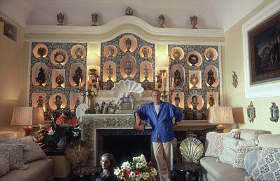 Photograph - Franco Zeffirelli by Slim Aarons