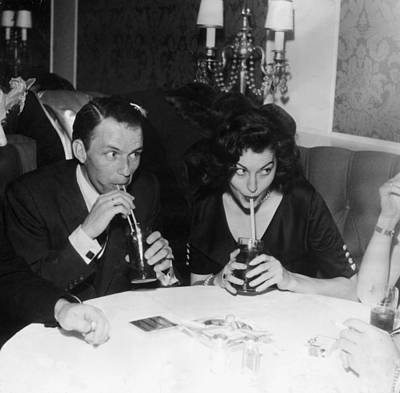 Drinking Photograph - Frank And Ava by Hulton Archive