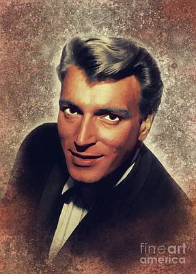 Music Paintings - Frank Ifield, Music Legend by Esoterica Art Agency