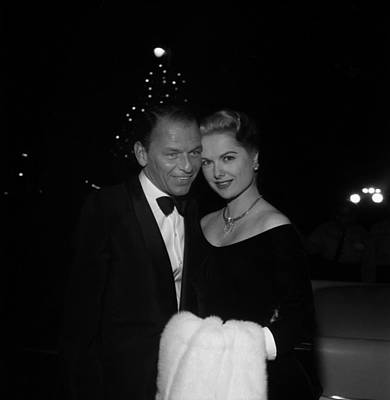 Photograph - Frank Sinatra And Martha Hyer by Michael Ochs Archives