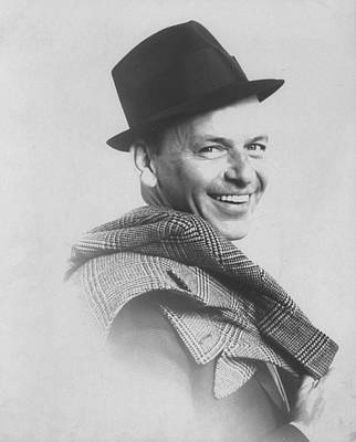 Photograph - Frank Sinatra by Gjon Mili