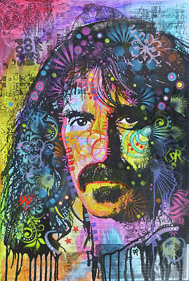 Painting - Frank Zappa Corn Pops by Dean Russo Art