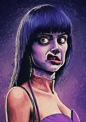Digital Art - Frankenhooker by Zapista Zapista