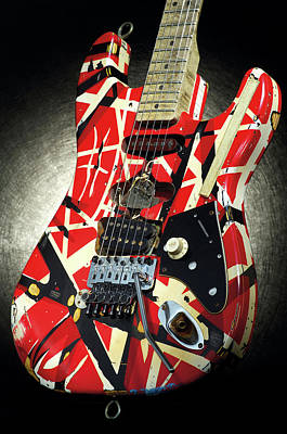 Indoors Photograph - Frankenstrat Studio Shoot by Guitarist Magazine