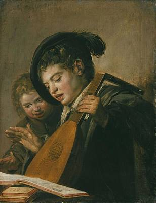 Painting - Frans Hals, Young Musician by Frans Hals