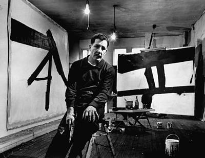 Abstract Photograph - Franz Kline by Fritz Goro