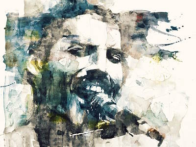 Freddie Mercury Wall Art - Painting - Freddie Mercury - Killer Queen by Paul Lovering