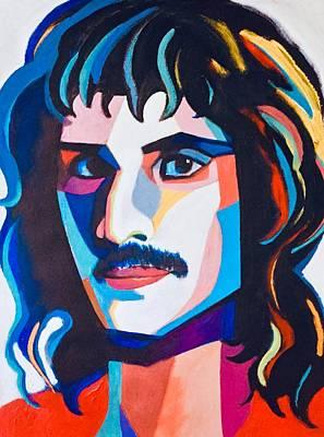 Painting - Freddie Mercury by Lee Wilde-Portraits