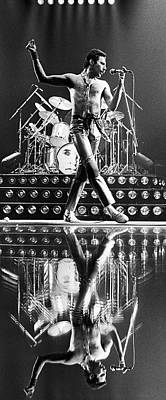 Photograph - Freddie Mercury Of Queen by George Rose