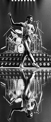 Freddie Mercury Wall Art - Photograph - Freddie Mercury Of Queen by George Rose