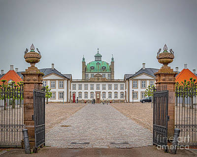 Fantasy Royalty-Free and Rights-Managed Images - Fredensborg Palace Landscape by Antony McAulay